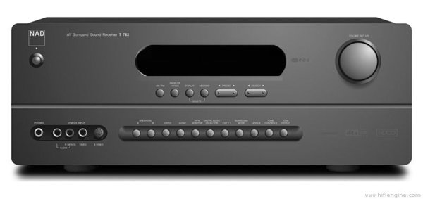 NAD T 762 stereo / surround receiver